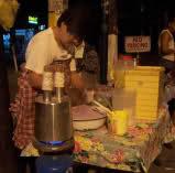 making of puto bumbong