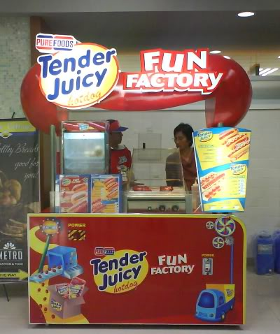 purefoods TJ Hotdog cart business