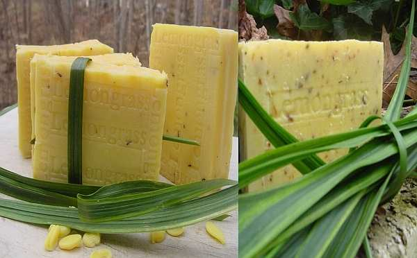 How to Make a Lemongrass Soap 2