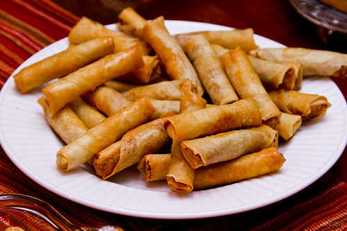 How to Make Chicken Lumpia 7