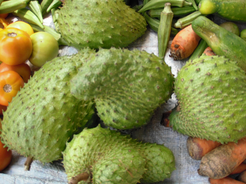 fruit juice blends soursop photo