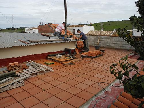 roof maintenance photo