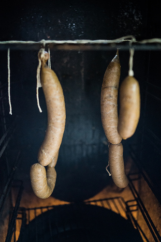smoked sausage photo
