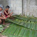 Surigao Women Produce Nipa Shingles To Augment Income