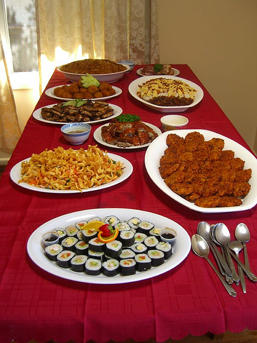 catering foods photo