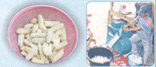 Figure 1 Processing of Banana Flour