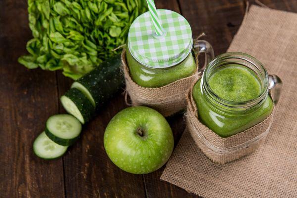 apple-cucumber smoothie