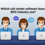 Which call center software does BPO Industry use?